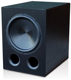 "Rythmik Audio FVX15 ported servo subwoofer - 15"" aluminium cone driver with 2 tuning frequencies: 18hz (two port) and 12hz (one port), 400W RMS - Black Oak Grain finish - $1,049"