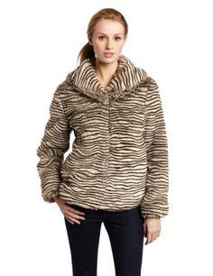 ABS by Allen Schwartz Women's Zebra Print Jacket $52.93 (79% OFF)