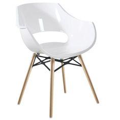 Capitonnage et silhouette raffinée cette chaise s int¨gre
