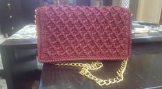 Diamond Stich Handmade Bags, Chanel Boy Bag, Shoulder Bag, Diamond, Crochet, Handmade Handbags, Shoulder Bags, Diamonds, Ganchillo