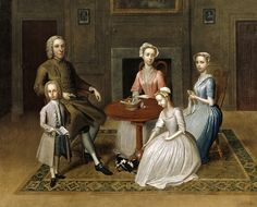 Geffrye Museum, London  Group portrait, possibly of the Brewster family, signed by Thomas Bardwell, 1736, on display at the Geffrye Museum; Geffrye Museum, London / photography John Hammond  Find out more about the museum: www.geffrye-museum.org.uk/