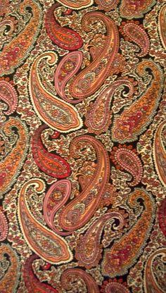 I love Paisley Fabric. Paisley Fabric, Paisley Pattern, Pattern Art, Paisley Print, Pattern Design, Textile Prints, Textile Design, Textiles, Textures Patterns