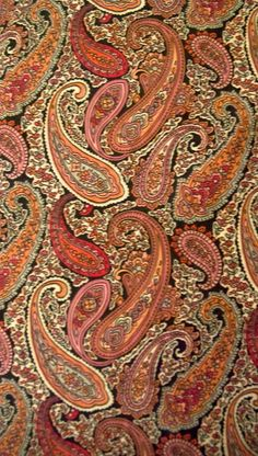 paisley fabric @Ju-Ju-Be Int'l
