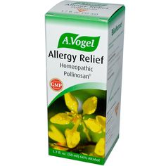 A Vogel, Allergy Relief, Homeopathic Pollinosan, fl oz ml) (Discontinued Item) Anti Allergy, Allergy Relief, Allergic Rhinitis, Watery Eyes, Nasal Congestion, Good Manufacturing Practice, Homeopathic Medicine, Health Diet, Allergies