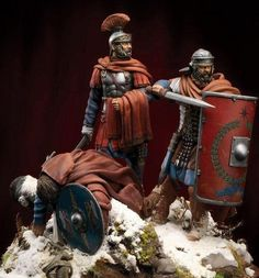 Roman Soldiers, Toy Soldiers, Ancient Rome, Ancient Art, Romans 2, Roman Legion, Virtual Museum, Military Diorama, Fantasy Character Design