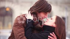 valentines affectionate young adult man embraces young adult woman. - Stock Footage | by ionescu #valentines #stockfootage #pond5 #love #romance