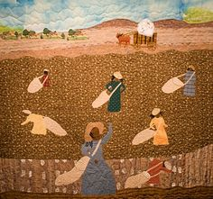 40 Acres Art Gallery Displays Quilts by African-American Quilters