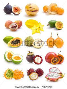 spring fruits exotic fruit