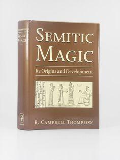 Semitic Magic - Thompson