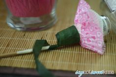 DIY Nail Polish Bouquet - Sweet Anne Handcrafted Designs