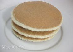 Felt Food: Pancakes Anyone? {Mega•Crafty}