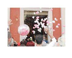 PALLONCINI DI CUORI a Le Feste di Mirtillo #matrimonio #decorazioni