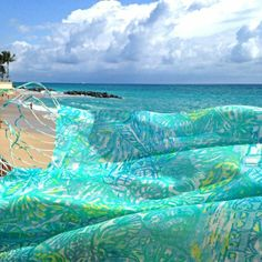 Lilly Pulitzer Exclusive Breakers Resort Scarf- Call 561.653.6360 to order + free shipping