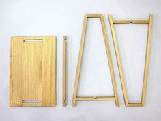 Unlike other DIY furniture pieces, the 'Breakdown Furniture' doesn't require the use of power tools #nomadic