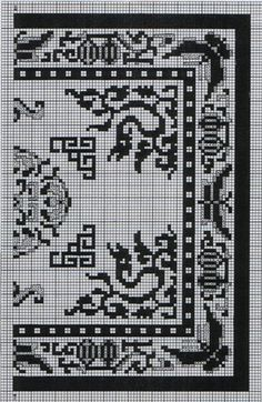 best miniature needlework embroidery dollhouse interiors miniatures round needlepoint rugs several free charts choose your own colors designed for dollhouses wool black modern rug Diy Embroidery, Cross Stitch Embroidery, Embroidery Patterns, Cross Stitch Patterns, Cross Stitch Heart, Crochet Cross, Chart Design, Loom Beading, Cross Stitching