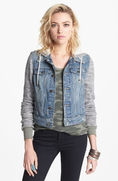 Free People Denim & Knit Jacket | Nordstrom, How would you style this? http://keep.com/free-people-denim-and-knit-jacket-no-by-tlcarver/k/1VhEyTABK4/