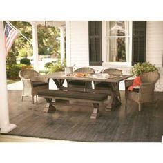 Thomasville Richwood 6-Piece Patio Dining Set-DISCONTINUED-FW-ALG6PCDS at The Home Depot