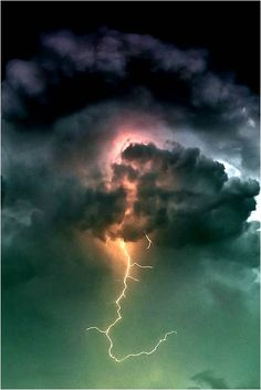lightning storm Nature at its most powerful