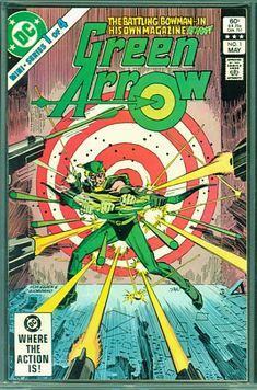Dc Comic Books, Comic Book Covers, Comic Art, Jack Kirby, Green Arrow Logo, Green Arrow Comics, Arrow 1, Arrow Oliver, Team Arrow