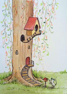 Nicky Johnston Illustration Challenge - September | Nicky Johnston www.nickyjohnston.com.au