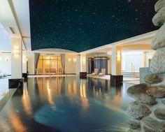 Pool Wellnessbereich Grandhotel Schloss Bensberg