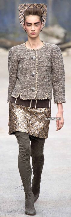 3903cded65d4 Chanel Fall Winter 2013-14 Haute Couture Chanel Fashion