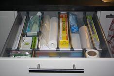 Kichen drawer. IKEA system (Pias Ryddige Hjørne)