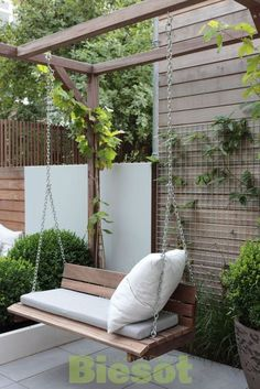 Balcony Garden 93953 Best backyard patio hacks to create the best space, # best . - Balcony Garden 93953 Best backyard patio hacks to create the best space, # best # best # hacks # ba - Pergola Patio, Backyard Patio, Backyard Landscaping, Pergola Kits, Pergola Swing, Modern Pergola, Landscaping Ideas, Small Pergola, Pergola Plans