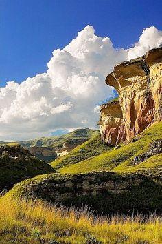 Mushroom Rocks . South Africa