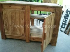 repallet 600x450 Pallet cupboard in pallet furniture pallet bedroom ideas  with pallet cupboard