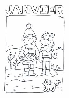 Home Decorating Style 2020 for Coloriage Janvier, you can see Coloriage Janvier and more pictures for Home Interior Designing 2020 20156 at SuperColoriage. Season Calendar, French Alphabet, French Worksheets, French Kids, French Education, French Classroom, Teaching French, Free Printable Coloring Pages, Lessons For Kids