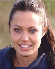 When someone asks me to define natural beauty: Angelina Jolie • • • •…