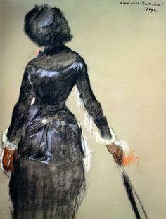 Edgar Degas, Portrait of Mary Cassatt