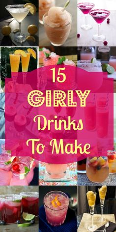 15 Girly Drinks to Make | My Girlish Whims