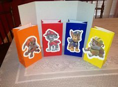 Cute Paw Patrol Party Goody Bags on Etsy, $2.00