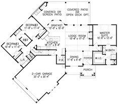Hip roof 3 bedroom