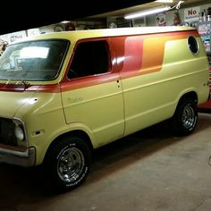 70's Dodge Street Van, soon to be back on the road