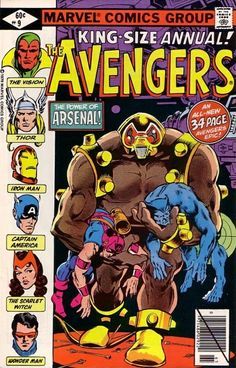 The Avengers Annual #9 - Today the Avengers Die (Issue)