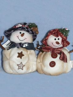"""4"""" Assorted Boy or Girl Snowmen, Snowmen, Crafts, CR's Crafts - Largest Variety of Doll Supplies and Bear Supplies ANYWHERE!"""