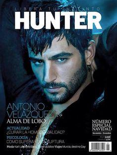 Portada revista Hunter de Antonio Velázquez.