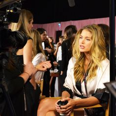 PHOTOGRAPHY & FILM PRODUCTION: Backstage at the Victoria's Secret Fashion Show 2014