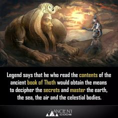 Ancient Aliens, Ancient Egypt, Ancient Book, Weird Facts, Fun Facts, Science Facts, Black History Facts, Ancient Mysteries, African History