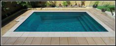 Davinci fibreglass pool is a great choice. This DIY swimming pool range come in a variety of sizes, colours & buying options to meet your needs & budgets. Diy Swimming Pool, Swimming Pool Construction, Swimming Pool Designs, Fiberglass Pool Prices, Fiberglass Swimming Pools, Hillside Pool, Courtyard Pool, Pool Sizes, Rectangular Pool