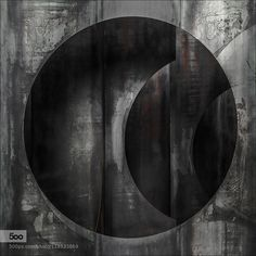 rusting art - Pinned by Mak Khalaf Abstract  by gilclaes