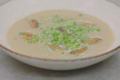 Dit is 'soep met meerwaarde'. Aardappelen, prei en de smaak…