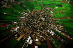 Moshav (co-operative village) farm at Nahalal, Jezrael plain, Israel
