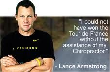 Another celebrity who sees a chiropractor!   Chiro 1st Physical Medicine • 317-898-5800 • www.chiro1st.net
