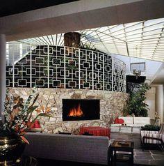 Erlich House by Ed White. Photo Julius Shulman, California 1958