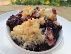 Blackberry Crumble - My 14 month old boys favourite!