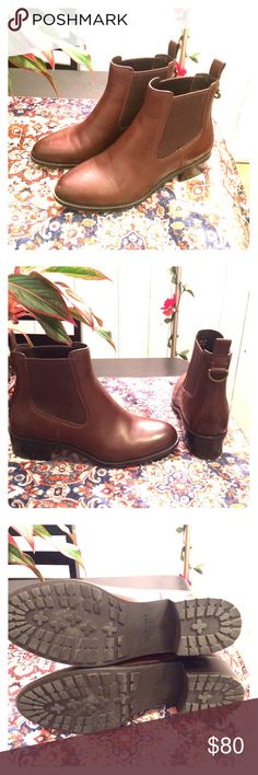 Cole Haan Brown Leather Newburg Chelsea Boots 7 Beautiful, waterproof, and leather Cole Haan Chelsea Boots. Worn only twice; almost NEW! Cole Haan Shoes Ankle Boots & Booties